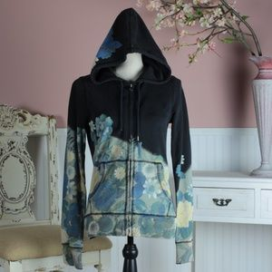 Lucky Brand Vintage Floral Hoodie Size S